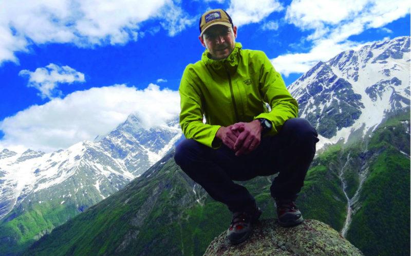 Helio Fenrich alpinista paranaense