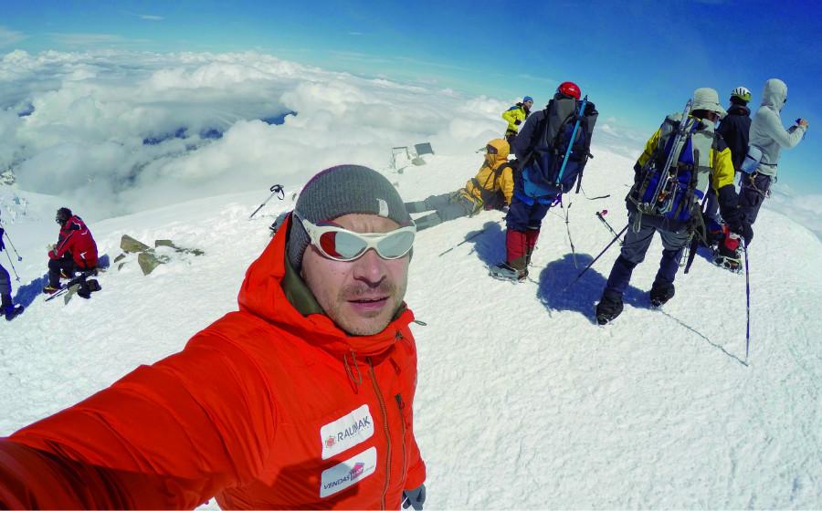 Alpinismo Helio Fenrich alpinista