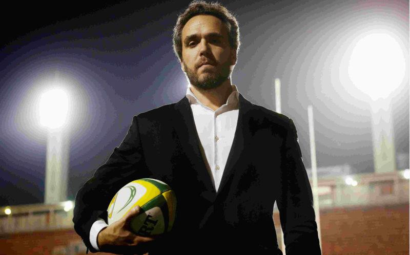 Agustin Danza, CEO da Confederação Brasileira de Rugby