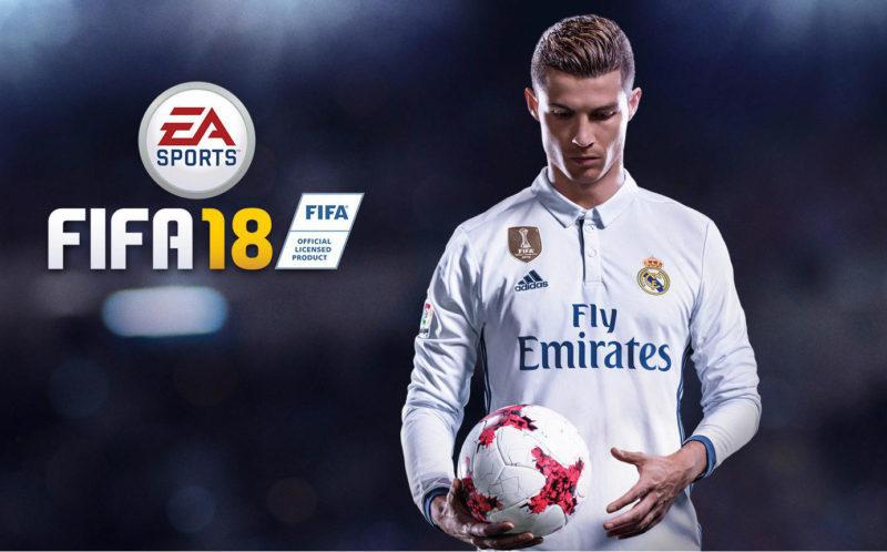 Games: Cristiano Ronaldo no Fifa 2018