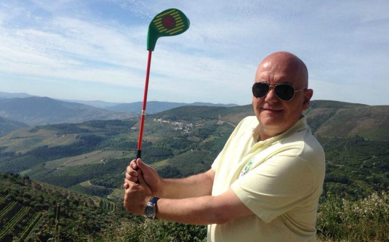 José Fortes da Gama, representante oficial do SNAG golfe no Brasil
