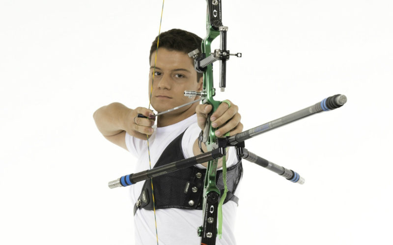 Marcus D'Almeida, atleta do tiro com arco
