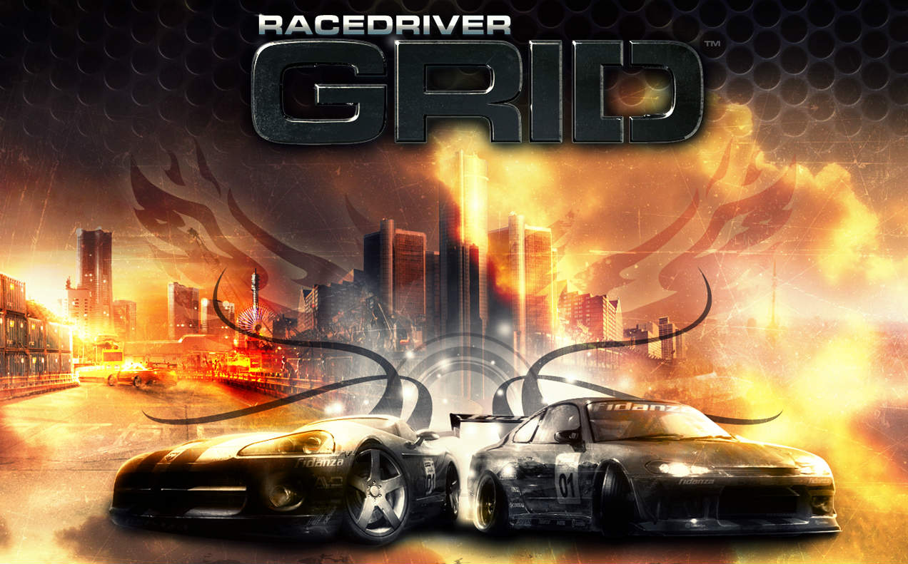 "Games & Sports - Codemasters ""Race Driver Grid"""