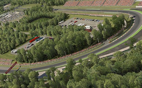 Fórmula 1 - Circuito de Monza, na Itália