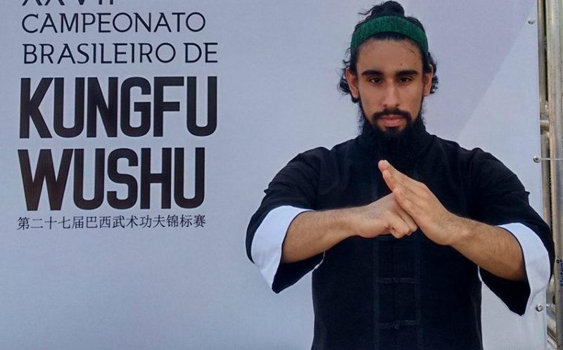 Gabriel Guarino lutador de kung fu