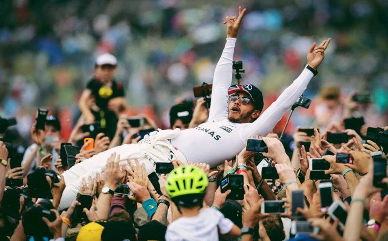 Lewis Hamilton campeão mundial de Fórmula 1 em 2017