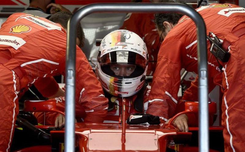 Sebastian Vettel piloto de Fórmula 1