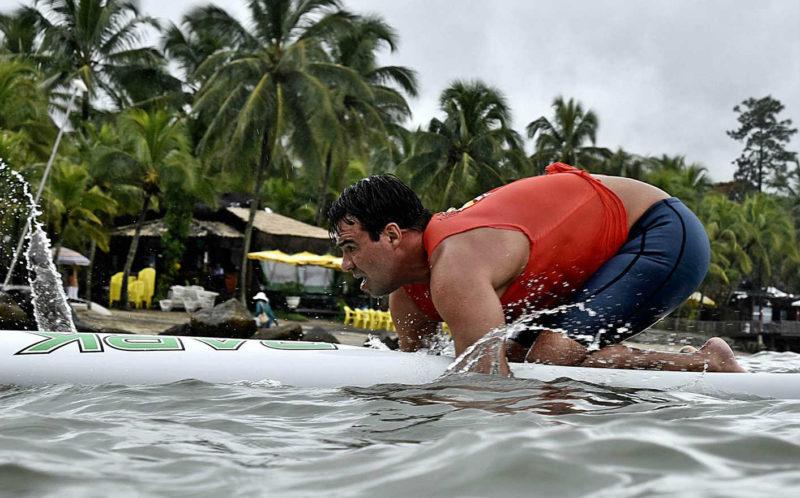 Patrick Winkler, top 10 no Mundial de paddleboard