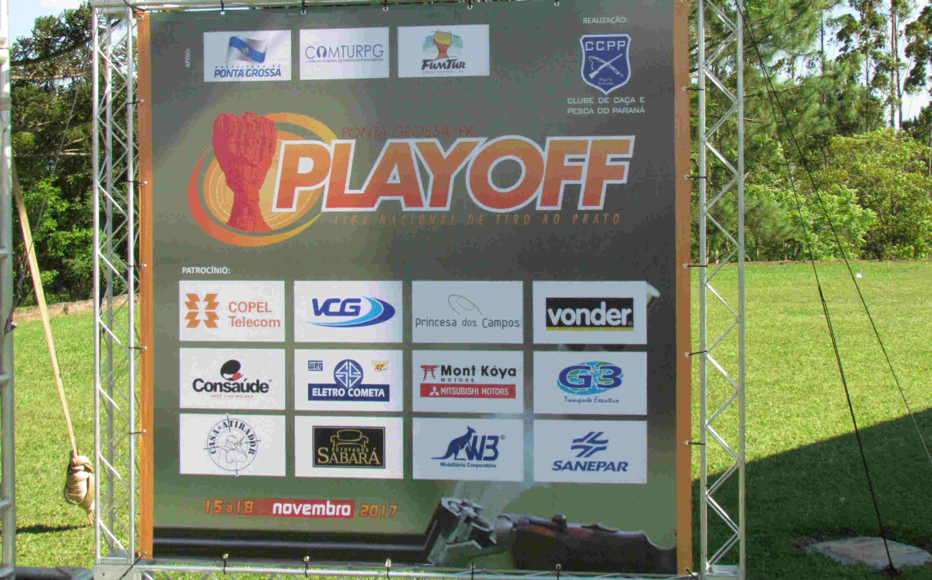 Playoff da Liga Nacional de Trap Americano - Tiro esportivo