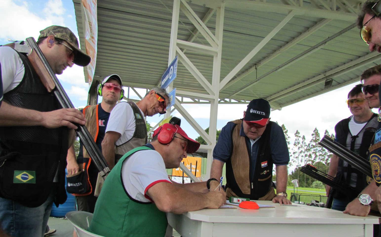 Playoff da Liga Nacional de Trap Americano 2017 - Tiro esportivo