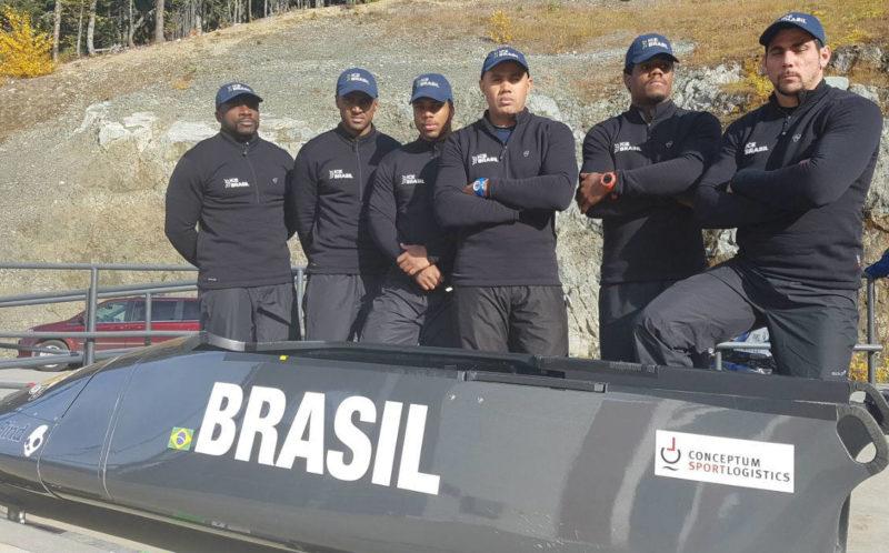 Jogos PyeonChang 2018_Equipe Brasileira de Bobsled