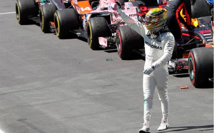hamilton interlagos 2017 Fórmula 1