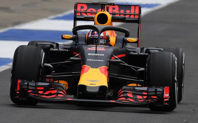 red bull halo Fórmula 1