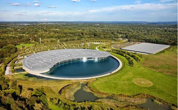Fórmula 1 fábrica da McLaren Woking