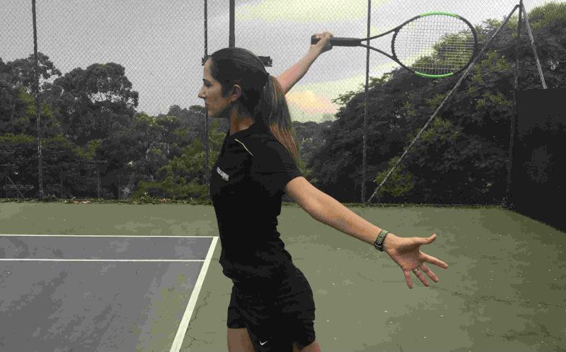 Vídeo-dica de Tênis – Como executar o backhand de uma mão